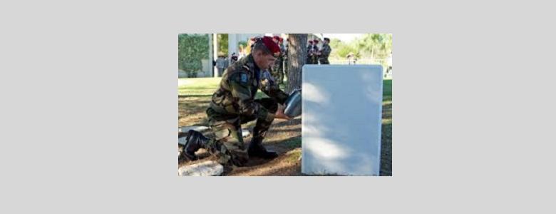 Transfert des cendres du Général Marcel Bigeard